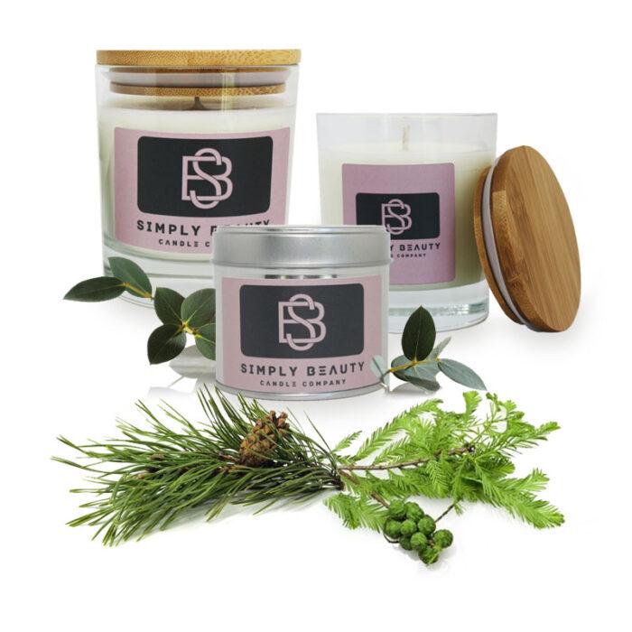 Eucalyptus, Pine and Cypress