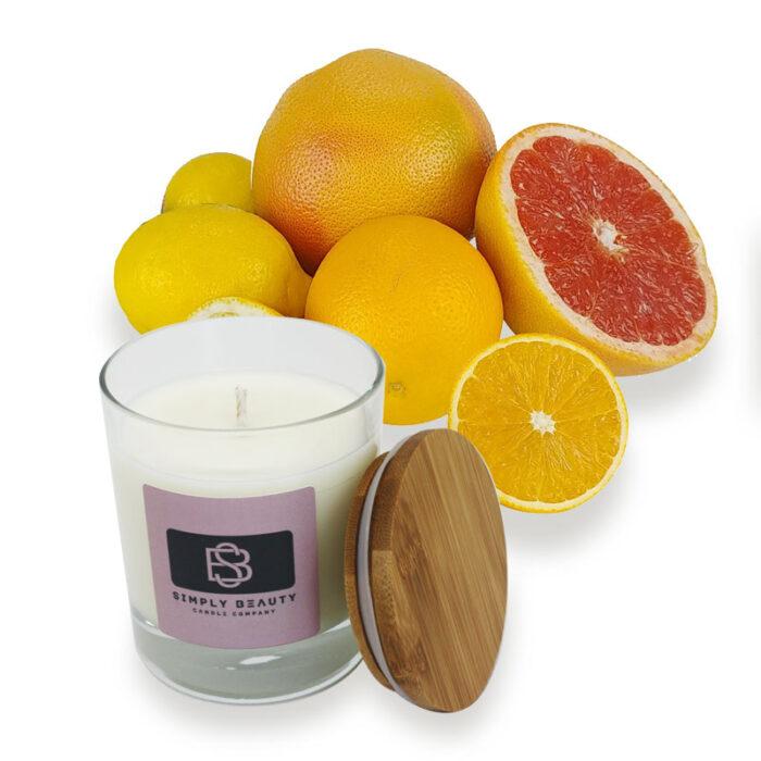 Grapefruit, Lemon & Sweet Orange Candles