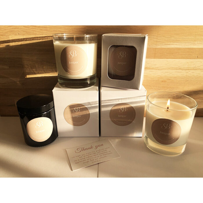 Juniper Handmade Essential Oil Candles