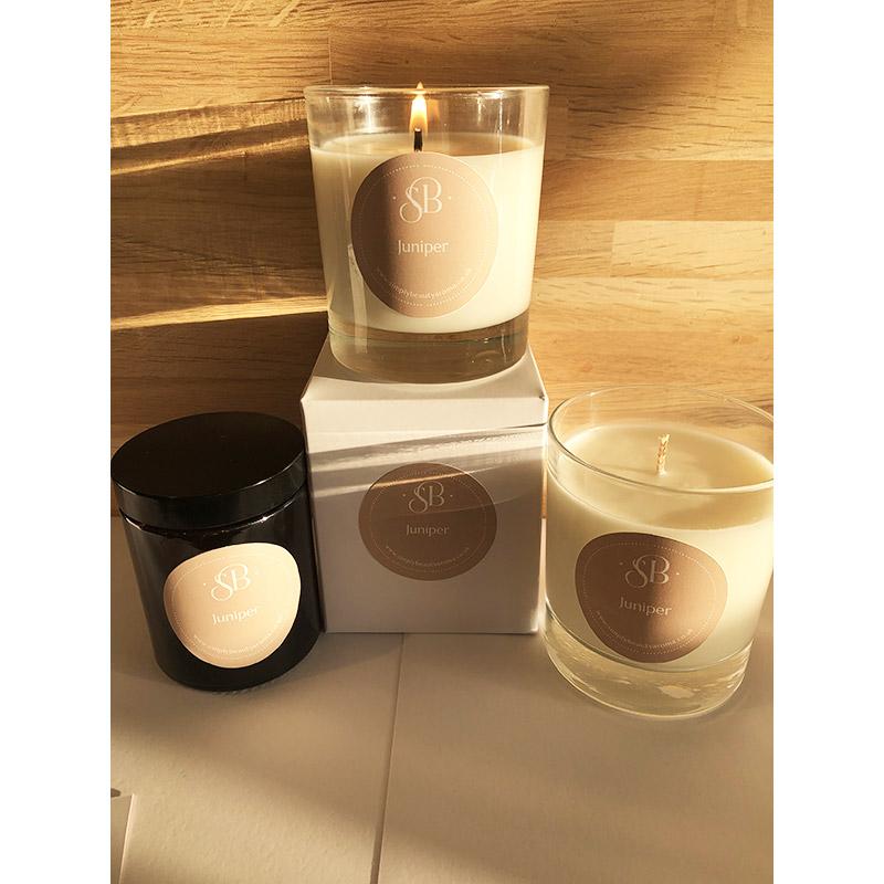 Juniper Handmade Essential Oil Candles