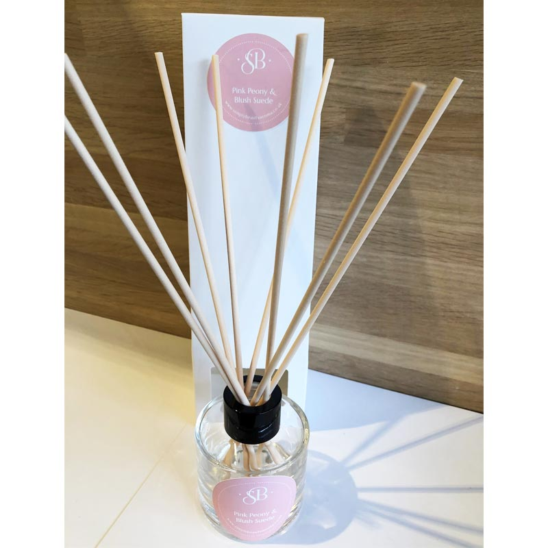 Pink Peony Blush Suede Diffuser