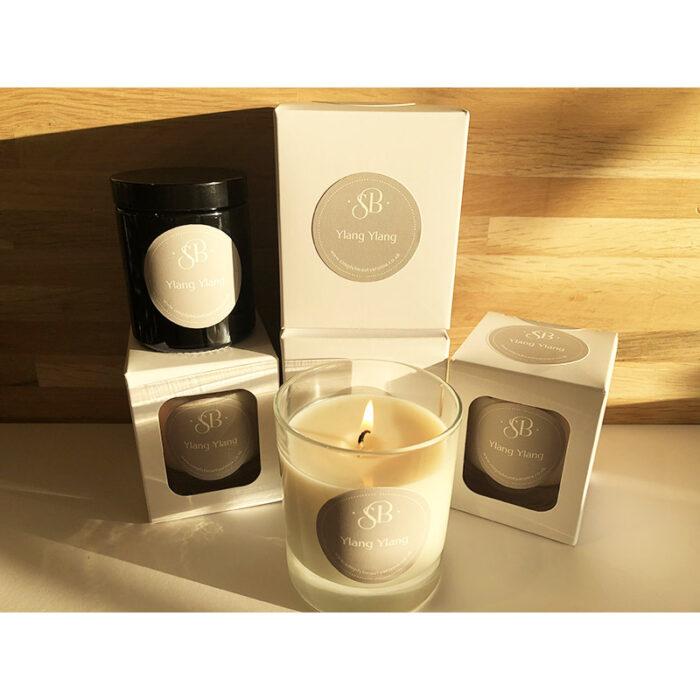 Ylang Ylang Handmade Essential Oils Candles