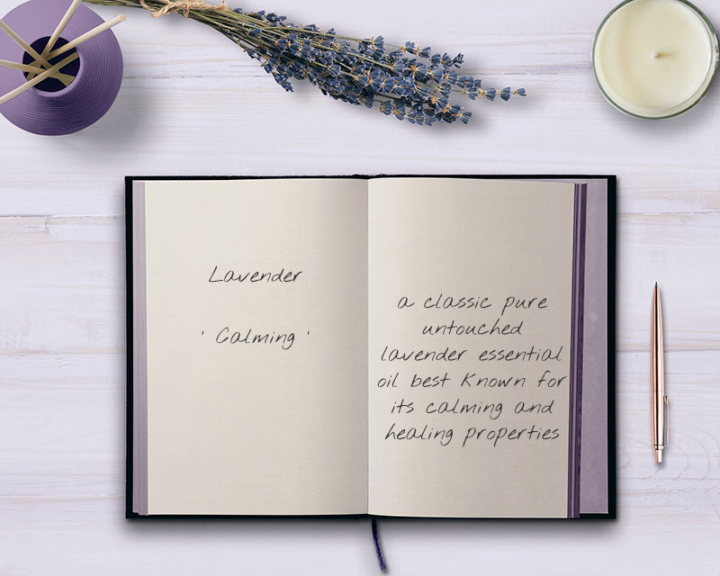 Lavender Pure Essential Oil Candle