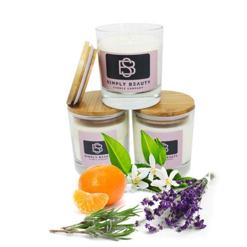 Neroli, Mandarin, Lavender and Rosemary