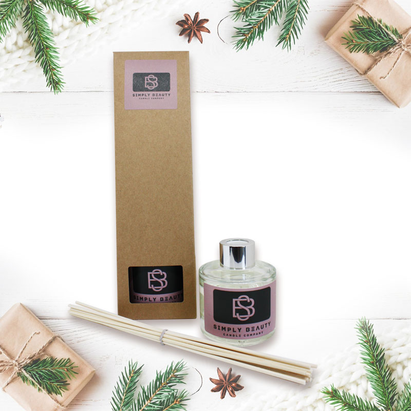 Dark Amber and Ginger Lily Christmas Diffuser