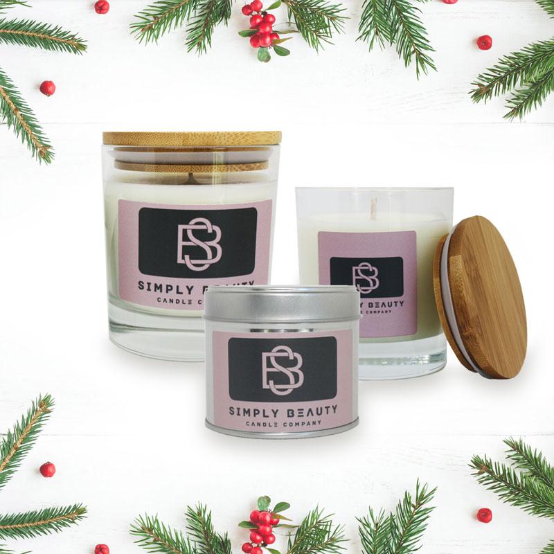 Frankincense & Myrrh Christmas Scented Candles