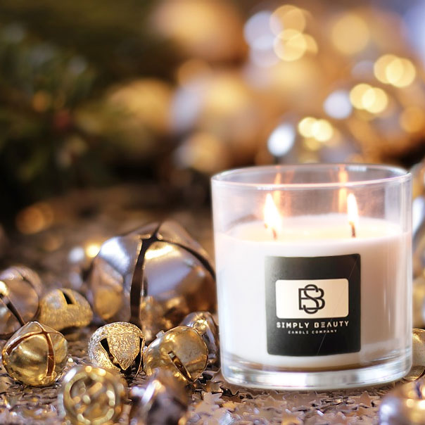 Relaxing Christmas Candle