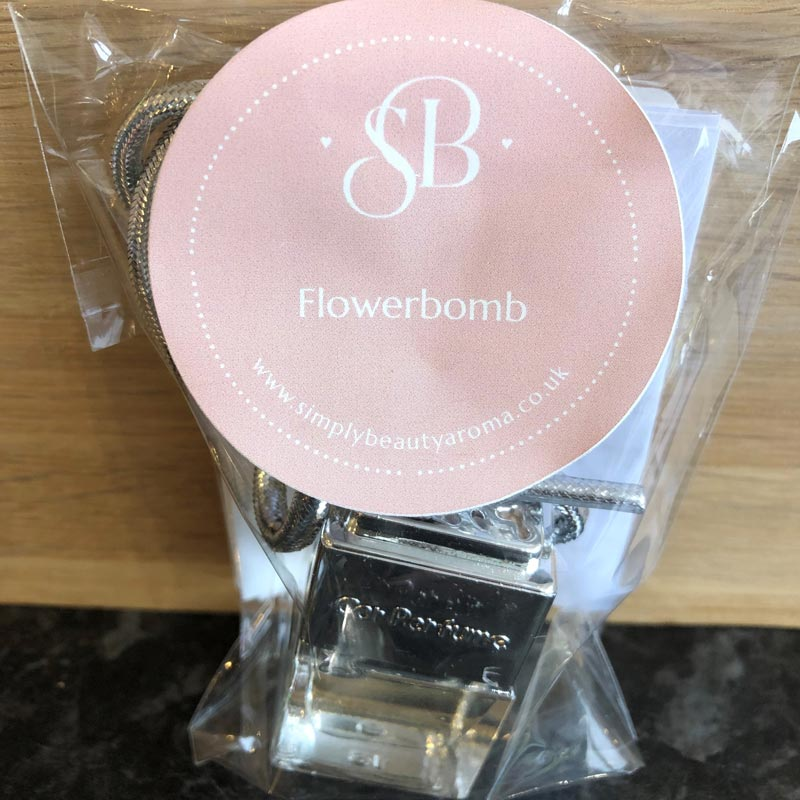 Scented Car Fresheners Flowerbomb