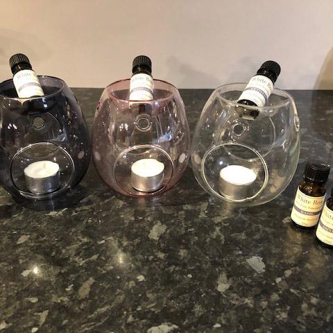 Essential Oil Wax Melts Glass Burner