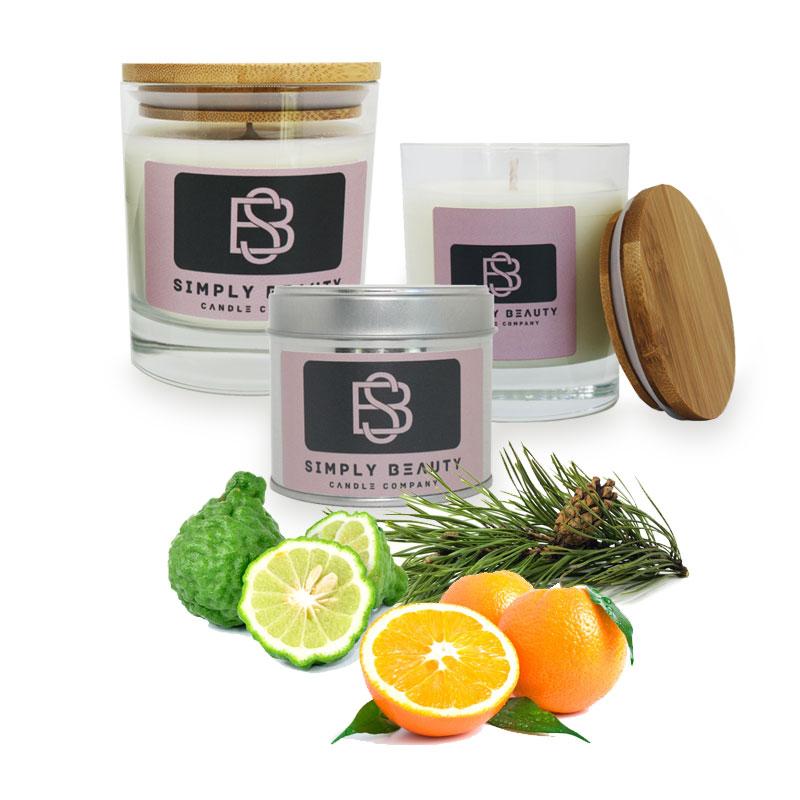Soothing Citrus Bergamot, Wild Orange and Cypress