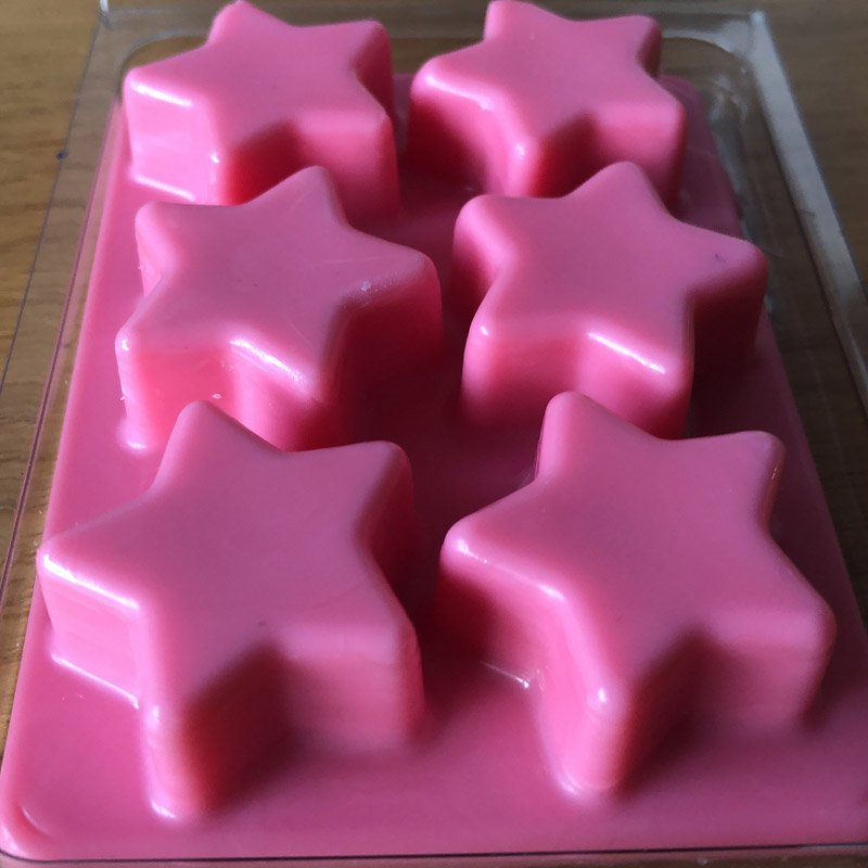 Star Shaped Wax Melts Snap Bar