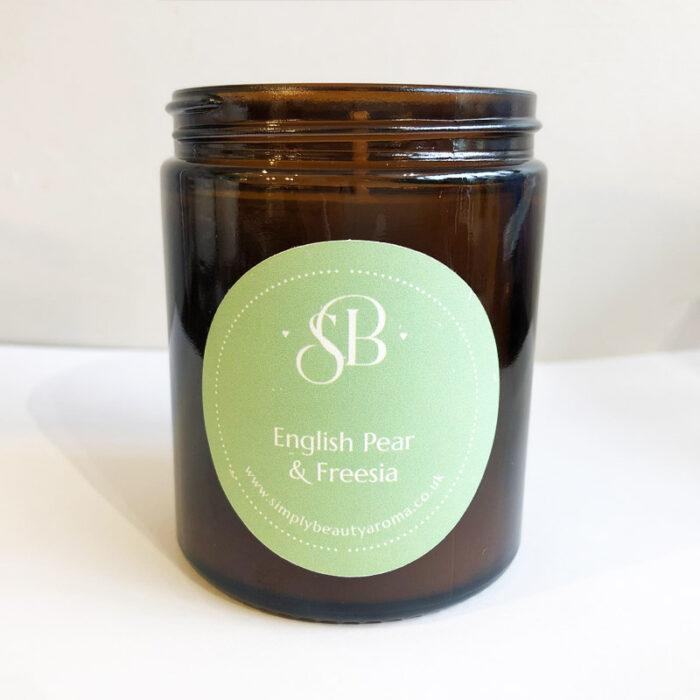 English Pear & Freesia Soy Candle