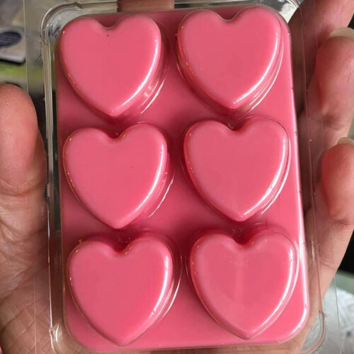 Heart Shaped Wax Melts Snap Bar