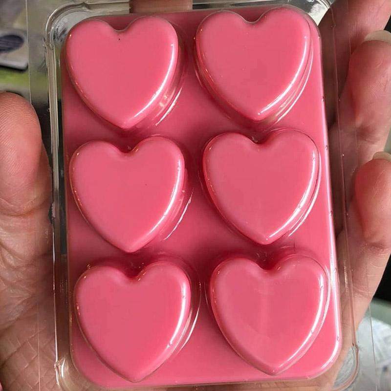 Heart Shaped Wax Melts Snap Bar