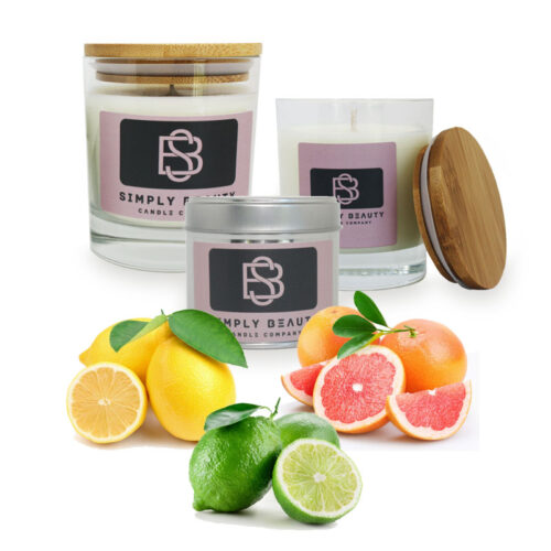 Lemon Lime and Grapefruit Candle