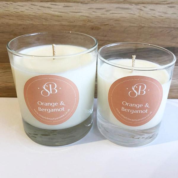 Orange & Bergamot Candles