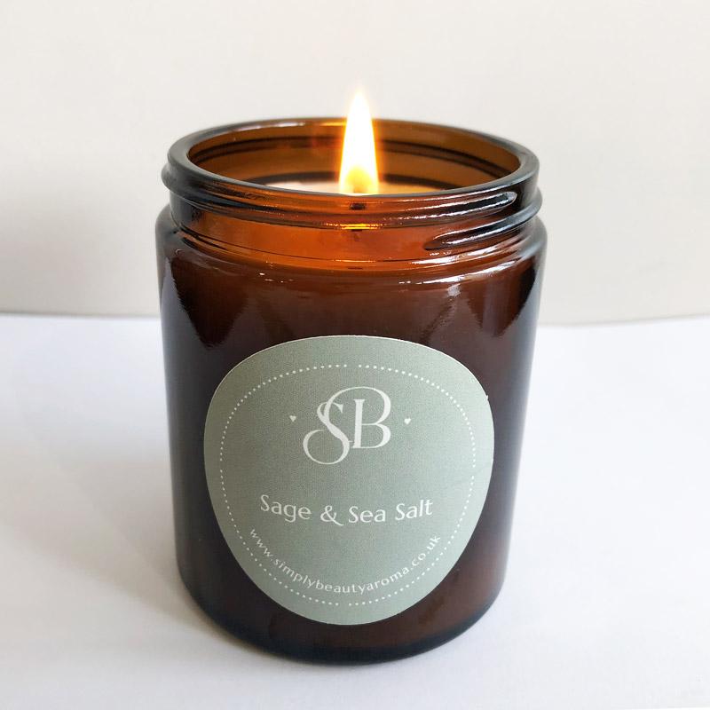 Sage & Sea Salt Soy Candle