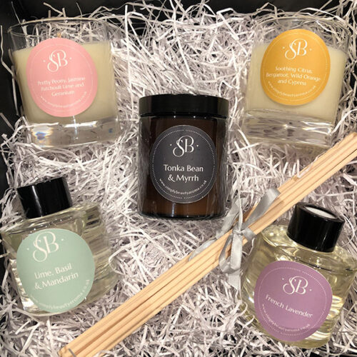 Gift Selection Box Diffusers Candles