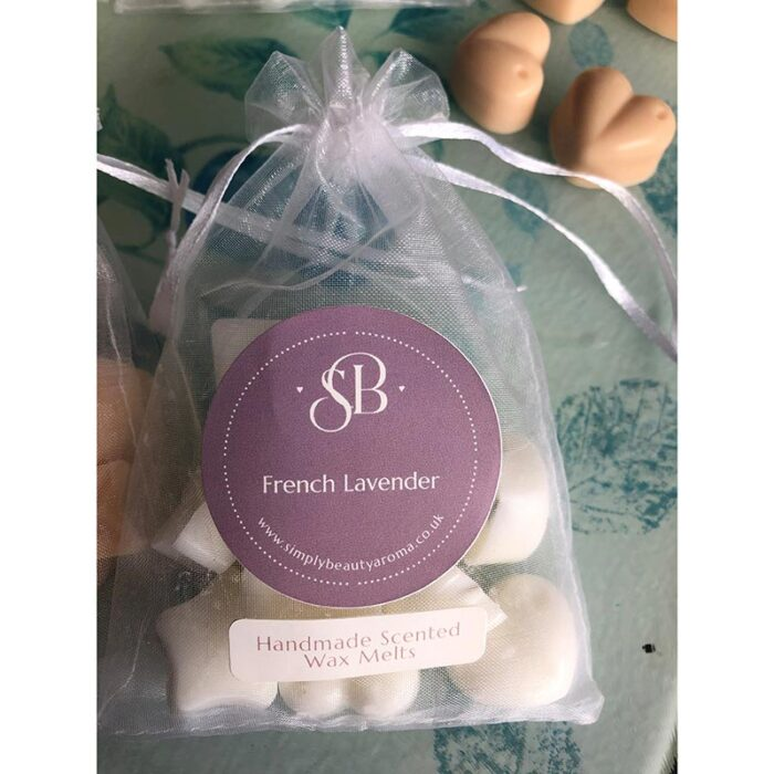Wax Melts in Eco-Friendly Glassine Gift Bags